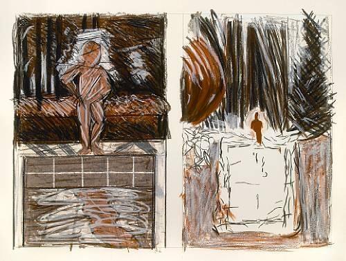 A Year in Pools - Jennifer Bartlett